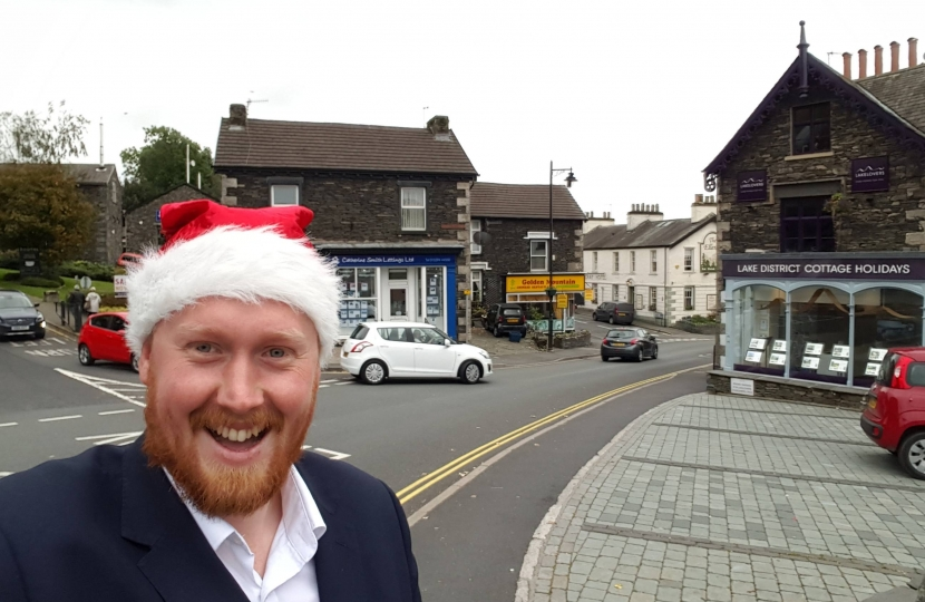 Ben Berry invites enervyone to come and join in the new Windermere German Christmas Market - Windermere Ja